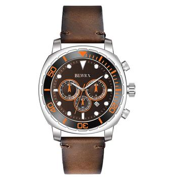 Multi-function Waterproof With Calendar Business Men's Watch