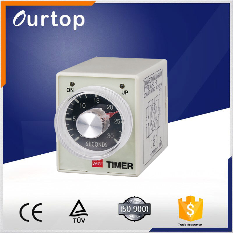 AH3 Timing Relay/Time Delay Relay/220V Timer Relay AH3-3 Timer Relay