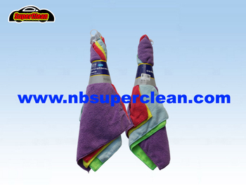 High qualily multi functions microfiber cloth car cleaning