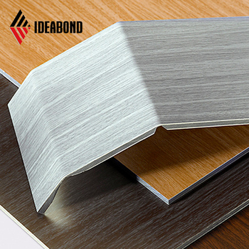 Factory price acp sheet 3mm 4mm wooden panel
