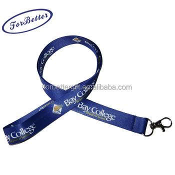 2014 best price high quality custom heat transfer Sublimation polyester Lanyard