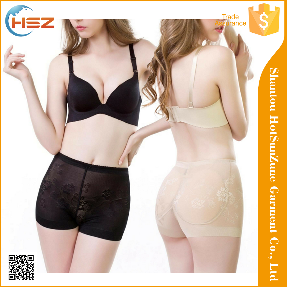 hsz-201 New Design Sexy See Through Ladies Underwear Plus Size Panty Women Body Magic Slim Shaper Panties Tights