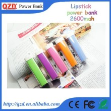 2600mAh Lipstick Power Bank External Battery Charger - Royal Purple