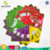 Wholesale juice plastic bottles PVC shrink label / PVC shrink sleeve label
