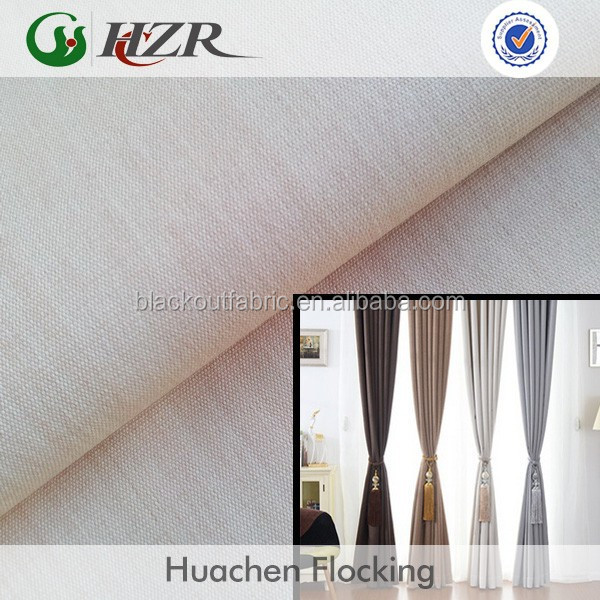 popular china home textiles blackout washable decorator fabric
