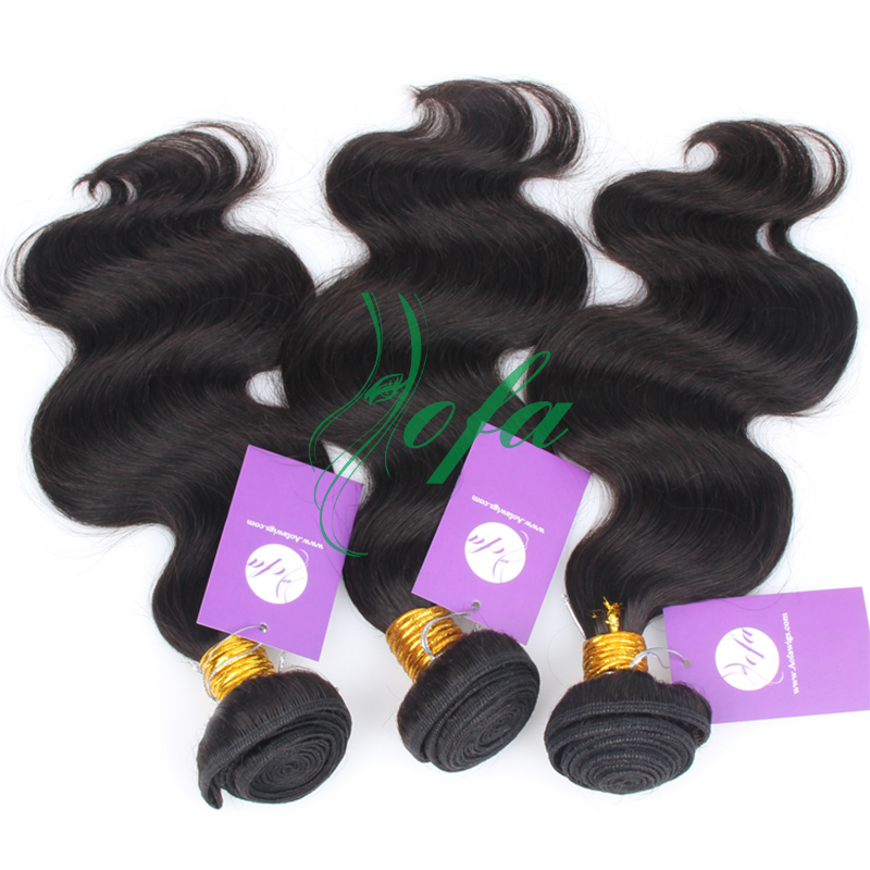 3 pcs / pack free US fast shipping sex for women virgin Body wave hair