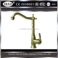 Factory Price Supplied Single Handle Antique Water Taps Brass Bronze Washing Basin Faucet Bathroom