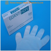 Disposable Transparent PE Plastic Gloves,Surgical Examination Gloves