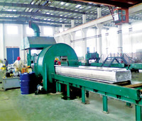 Slab saw cutting machine (band saw)