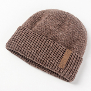 Beanies Knit Men's Winter Hat Wool Caps Custom Winter Fashion Hats