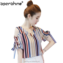 Long Blouse For Lady Year 2015 Sailor Blouse Decorative Patch Work In Blouse Neck Designs