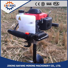 Person earth auger / earth hole drilling machine / agricultural digging tools