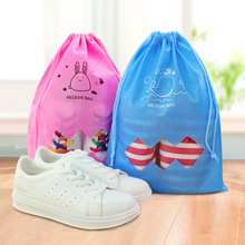 import china goods wholesale cheap products custom logo brand promotional non woven drawstring shoe bag