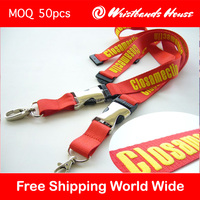 Hot sale custom branded lanyard | Updated Printed branded lanyard | No minimum Promotion branded lanyard