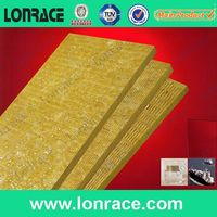 Building and thermal insulation material of glass wool roll for wall and roof insualtion