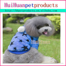 Wholesale new clothes with star for pet dog made in China
