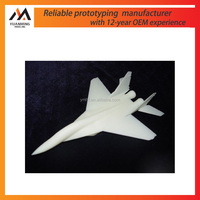 manufacturer plastic 3d printing model plane/rapid prototyping