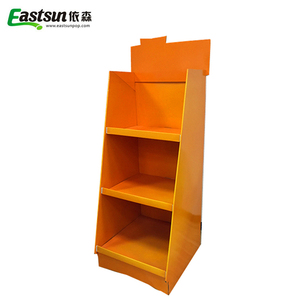 Supermarket Retail Customized Cheap Hat Fancy Store Display Case, Hat Cardboard Display Rack