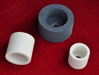 White aluminum oxide grinding wheel cup-shaped