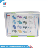 A4 Size Lockable Clear Plactic File Case