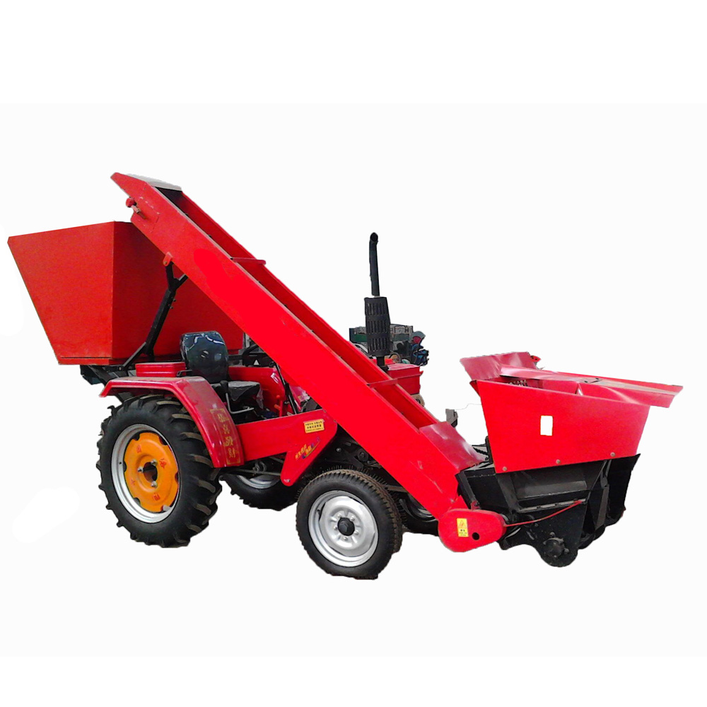 Farm equipment knapsack mini corn combine harvester in Myanmar