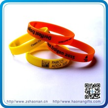 2015 craft products promotional gift silicon wristband gift ideas for men