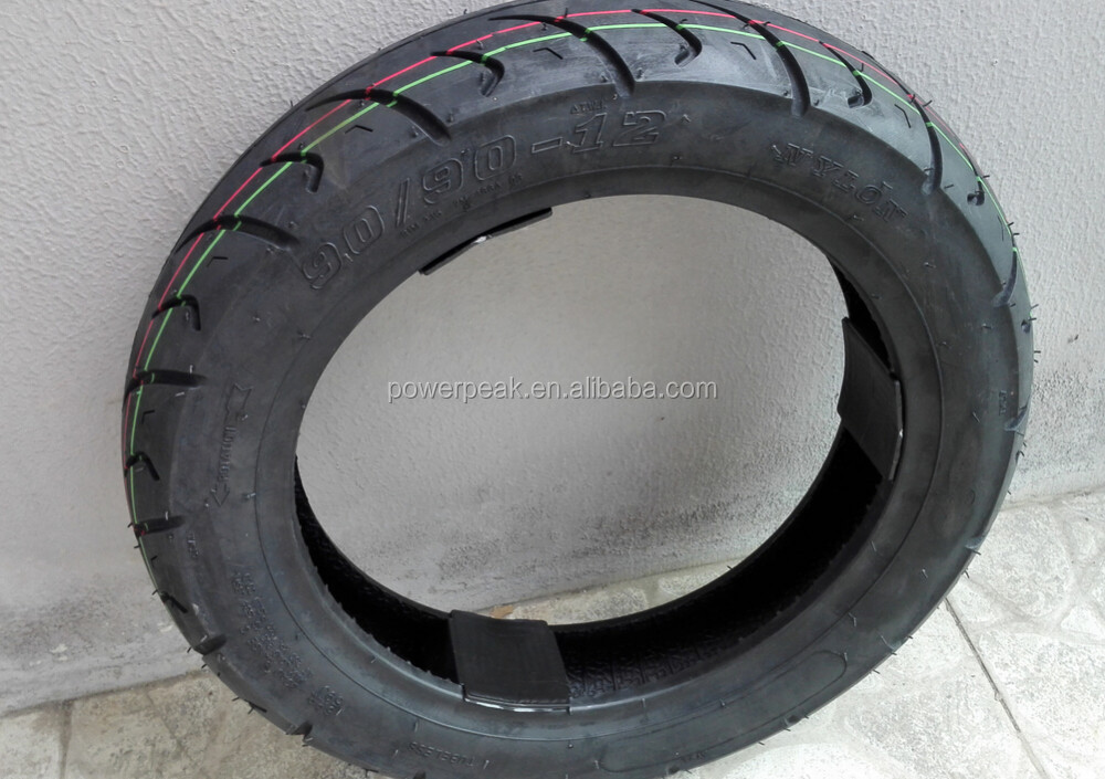 90/90-12 motorcycle tubeless tire