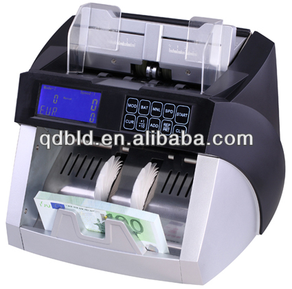 mixed value counting currency counter/high speed cash counting machine/money counter with fake note detections