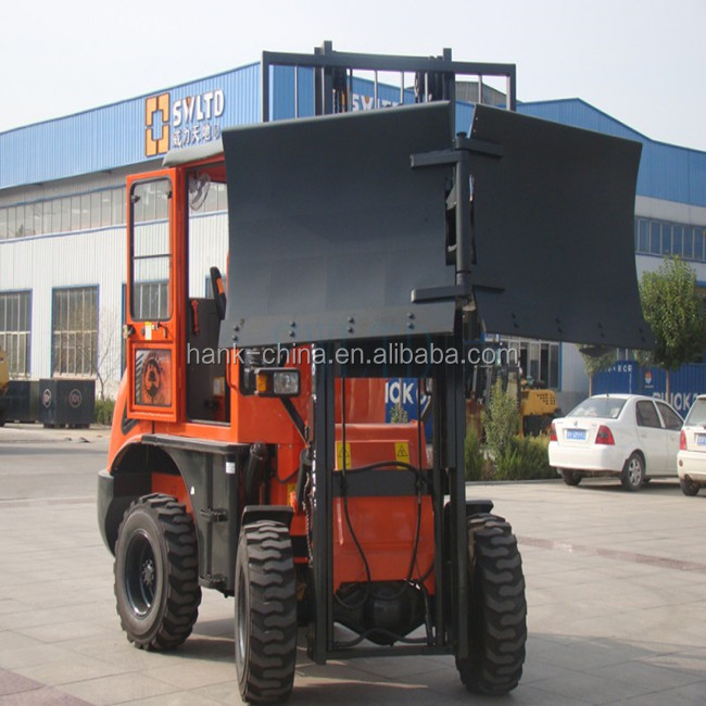 China new condition 3ton rough terrain forklift ,cheap price 4WD CE certificate off-road terrain
