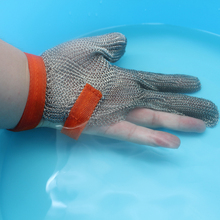 Hot High Quality Three Fingers Stainless Steel Metal Mesh Gloves Cut Resistant Safety Working Gloves