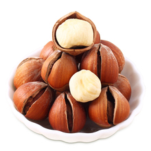 Chinese salted roasted cheap healthy snack hazelnut with factory price