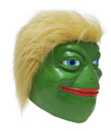 Funny Ridiculous Spoof Meme American President Frog Trump Mask