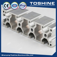 Square alloy Aluminium Box Section supplier, direct sell Aluminium Box Section for transport, building, conveyor roller