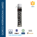 Gorvia 750ml straw type PU foam sealant for window and door application/Item-O