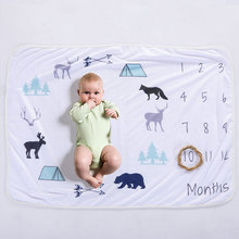 Hot Baby's blanket wholesale custom fleece flannel flannel cotton throw blanket