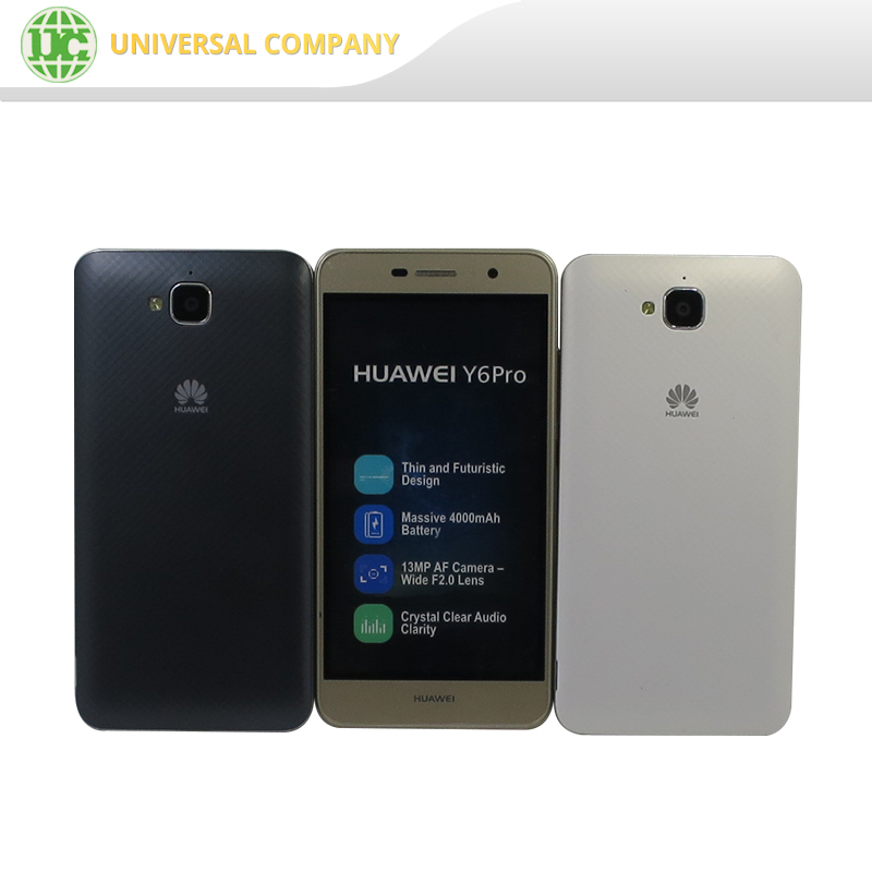 5.0 Inches Quad-core Cell Phone Android 5.1 Huawei Y6 Pro smartphone