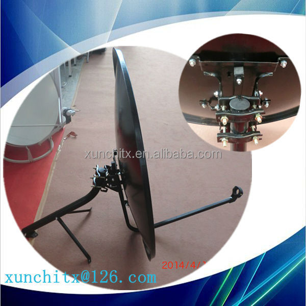 ku-band 90 cm satellite offset dish antenna