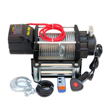 cable winches 12V DC/24V DC 15000lbs ip68 waterproof 4x4 winch
