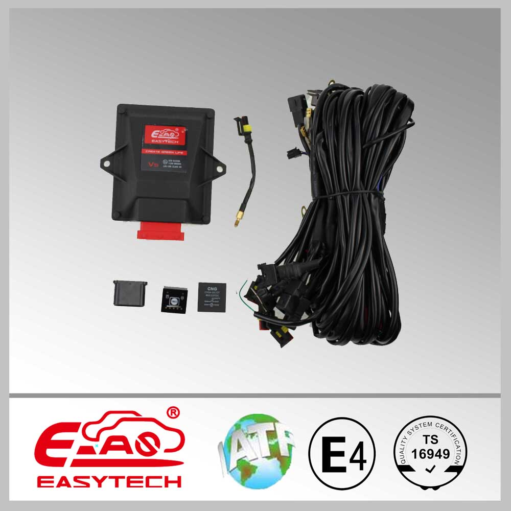 gasoline engine LPG CNG sequential conversion kit for EFI cars/one connector ECU/Smart ECU box