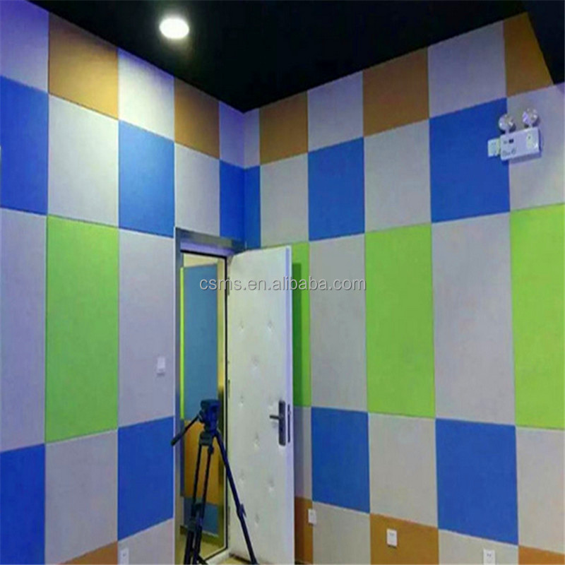 Sound Proof Polyester Fiber Acoustic Wall Panels