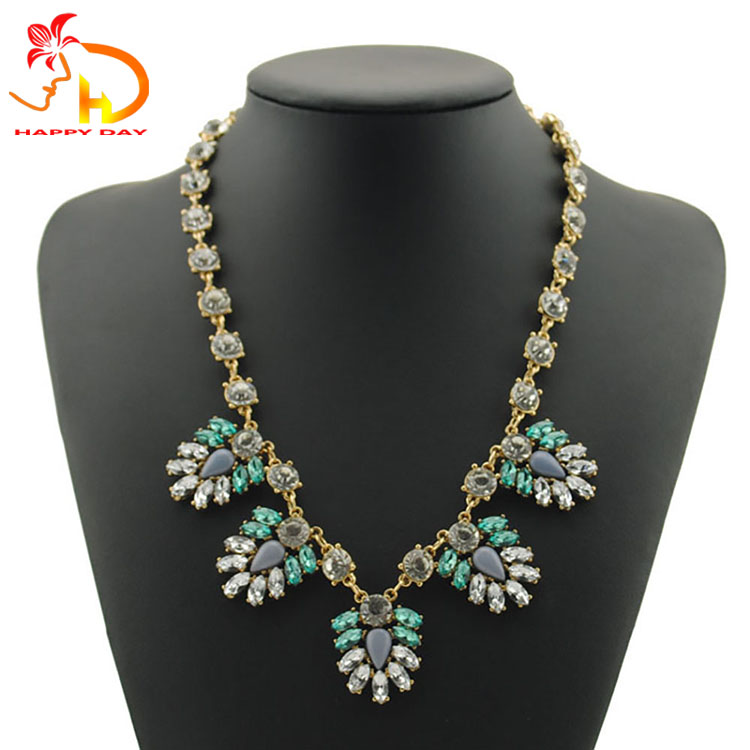 Top Fashion Attractive Style Woman Alloy Necklace Jewellery