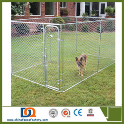 Hot Sale Hot Dipped Galvanized Chain Link large Dog Kennels
