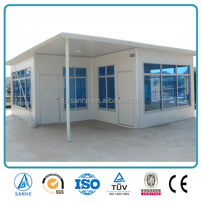low price construction site camp container house