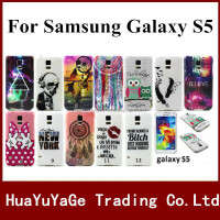 Free shipping phone cases print TPU cover soft case for Samsung Galaxy S5 i9600