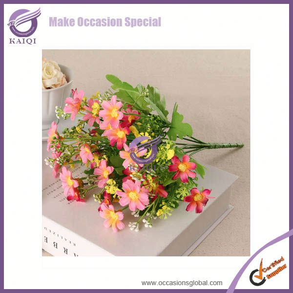 peony artificial plastic wreath flower in bangkok