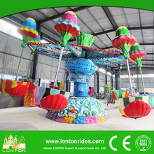Family Fun Center Equipment Happy Jellyfish Ride Amusement Factory For Sale