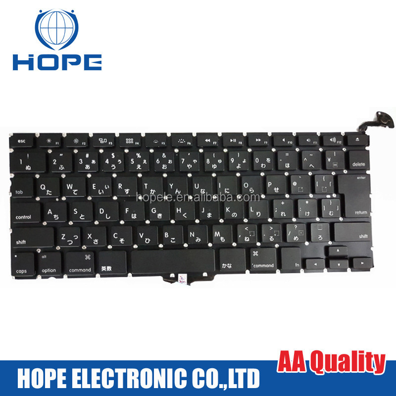 Original A1278 Japanese Keyboard For Apple Macbook Pro 13'' A1278 Japanese Keyboard