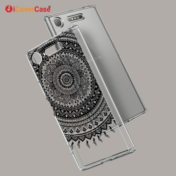 Crystal Silicone TPU Back Cover Phone Case For Sony Xperia XZ1 Accessory Mobile