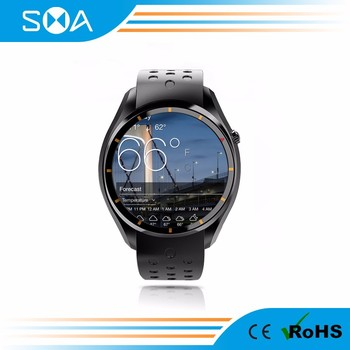 Top Quality Sport Watch MTK6580 Solution 1.39 Amoled Screen Fitness Watch for IOS Android Smartphones