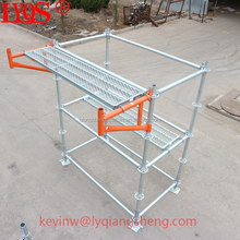 Q345 steel Layher allround system ringlock scaffold for construction